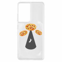 Чохол для Samsung S21 Ultra Pizza UFO