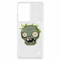 Чохол для Samsung S21 Ultra Plants vs zombie head