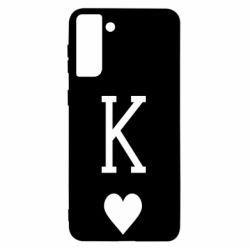 Чохол для Samsung S21 Ultra Playing Cards King
