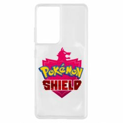 Чохол для Samsung S21 Ultra Pokemon shield