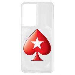 Чохол для Samsung S21 Ultra Poker Stars 3D Logo