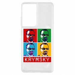 Чохол для Samsung S21 Ultra Pop man krymski