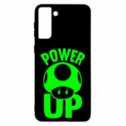 Чохол для Samsung S21 Ultra Power Up Маріо гриб