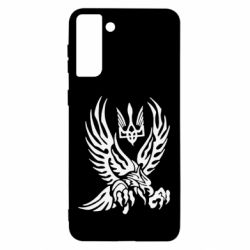 Чохол для Samsung S21 Ultra Птах та герб