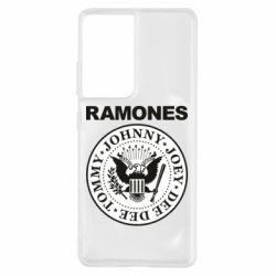 Чохол для Samsung S21 Ultra Ramones