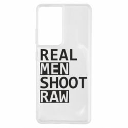 Чохол для Samsung S21 Ultra Real Men Shoot RAW