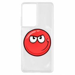 Чехол для Samsung S21 Ultra Red Ball game