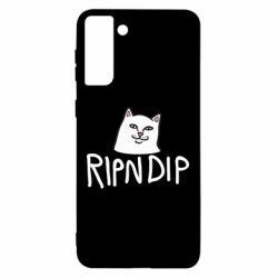 Чохол для Samsung S21 Ultra Ripndip and cat