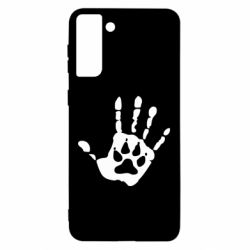 Чехол для Samsung S21 Ultra Рука волка