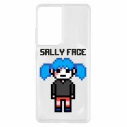 Чохол для Samsung S21 Ultra Sally face pixel