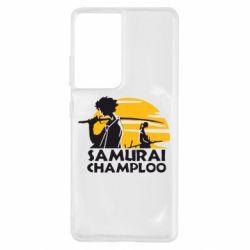 Чохол для Samsung S21 Ultra Samurai Champloo