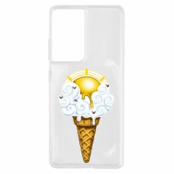 Чохол для Samsung S21 Ultra Sea ice cream