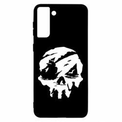 Чохол для Samsung S21 Ultra Sea of Thieves skull