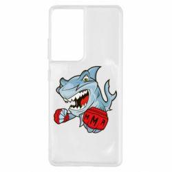 Чохол для Samsung S21 Ultra Shark MMA