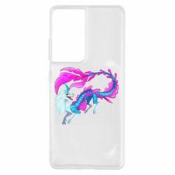 Чохол для Samsung S21 Ultra Sisu Water Dragon