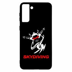 Чохол для Samsung S21 Ultra Skidiving