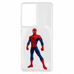 Чохол для Samsung S21 Ultra Spiderman in costume