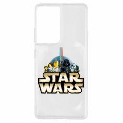 Чохол для Samsung S21 Ultra Star Wars Lego