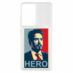 Чохол для Samsung S21 Ultra Stark Hero