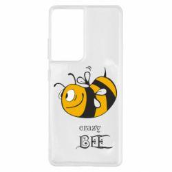 Чохол для Samsung S21 Ultra Шалена бджілка