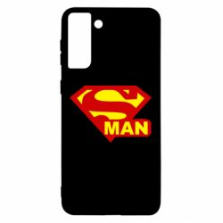 Чохол для Samsung S21 Ultra Super Man
