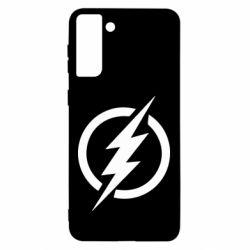 Чохол для Samsung S21 Ultra Superhero logo