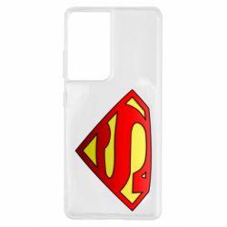 Чехол для Samsung S21 Ultra Superman Logo