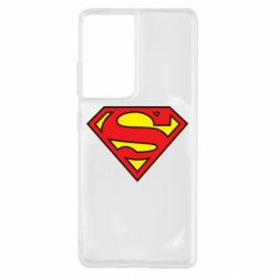 Чехол для Samsung S21 Ultra Superman Symbol