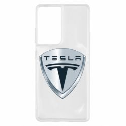Чохол для Samsung S21 Ultra Tesla Corp