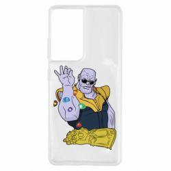 Чохол для Samsung S21 Ultra Thanos Art