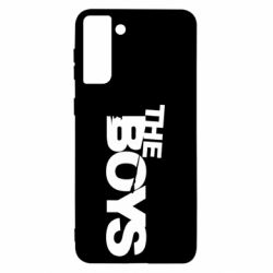 Чехол для Samsung S21 Ultra The Boys logo