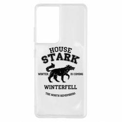 Чехол для Samsung S21 Ultra The North Remembers - House Stark