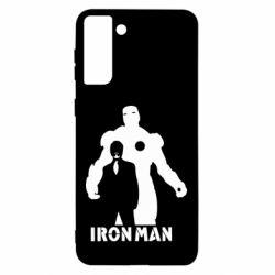 Чехол для Samsung S21 Ultra Tony iron man