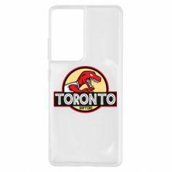 Чохол для Samsung S21 Ultra Toronto raptors park