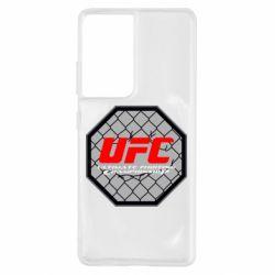 Чехол для Samsung S21 Ultra UFC Cage
