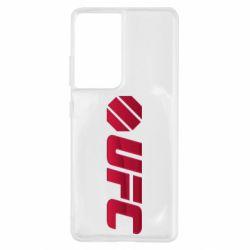 Чехол для Samsung S21 Ultra UFC Main Logo