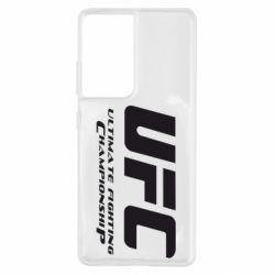 Чохол для Samsung S21 Ultra UFC