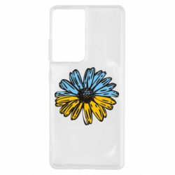 Чехол для Samsung S21 Ultra Українська квітка