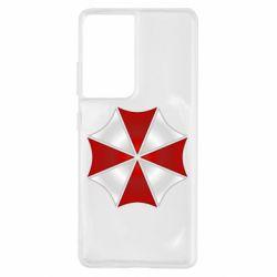 Чохол для Samsung S21 Ultra Umbrella Corp Logo
