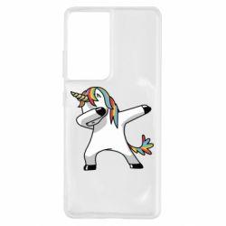 Чехол для Samsung S21 Ultra Unicorn SWAG