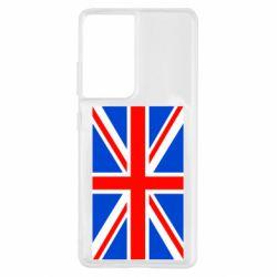 Чехол для Samsung S21 Ultra Великобритания
