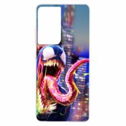Чехол для Samsung S21 Ultra Venom slime
