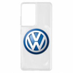 Чохол для Samsung S21 Ultra Volkswagen 3D Logo