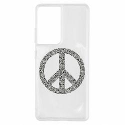 Чохол для Samsung S21 Ultra War Peace