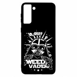 Чехол для Samsung S21 Ultra Weed Vader
