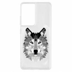 Чохол для Samsung S21 Ultra Wolf Art