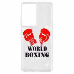 Чохол для Samsung S21 Ultra World Boxing