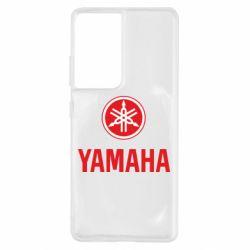 Чохол для Samsung S21 Ultra Yamaha Logo(R+W)
