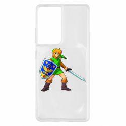 Чехол для Samsung S21 Ultra Zelda