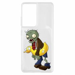 Чохол для Samsung S21 Ultra Zombie with a duck